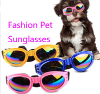 Wholesale dog sunglasses freeshipping resale online - Pet Accessories Cat Dog Glasses Pet Sunglasses Small Dogs Cat Eye wear Protection Pet Cool Glasses for puppy