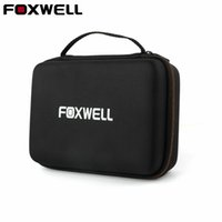 Wholesale obd2 check engine code reader - Hard Protection Carrying Case for FOXWELL NT301 Obd2 Code Reader Check Engine Light Scanner Polyester Fibre & EVA Premium Case