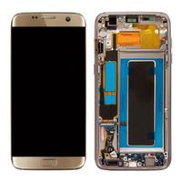digitalização lcd substituição samsung galaxy venda por atacado-Origina tela para samsung galaxy s7 borda g935 g935a g935d g935f display lcd com tela de toque digitador assembléia substituição