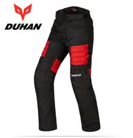 Wholesale motorcycle warm winter pants - NEW Brand DUHAN DK002 Motorcycle Racing pants Moto winter trousers Warm Windproof Sports Knee Protective trousers