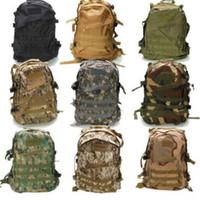 dağcılık sırt çantası toptan satış-13 Renkler 3D Açık Spor Taktik Tırmanma Dağcılık Sırt Çantası Kamp Yürüyüş Trekking Sırt Çantası Seyahat Açık Çanta CCA10426 30 adet