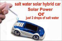 Wholesale powered model cars - Solar Energy Power Toy Solar & Salt Water Hybrid Car Toys model car for Children Gift Christmas Enlightenment education