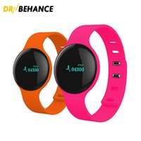 Wholesale Watch Band Packaging - H8 Smart Band Bluetooth Wristbands Sleep Tracker Sport Watch for iPhone IOS Android with Retail Package