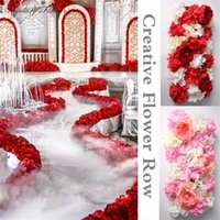 Wholesale Silk hydrangea peony flower heads DIY simulation wedding flower arches road lead special row decoration for hotel shop stage DIY