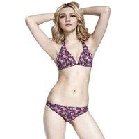 ingrosso cinghia da bagno-NEW Push Up Strap Sexy Bikini Set perizoma Costumi da bagno donna Costume da bagno Costume da bagno Beach Wear Bikini brasiliano Femminile