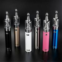 mejores kits de vapor al por mayor-El mejor kit de cigarrillo electrónico GS-G5 2200mah 0.8 ohm GS batería de cigarrillo electrónico Kit portátil de caja