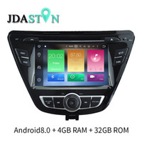 Wholesale hyundai elantra dvd - JDASTON Octa Cores Android 8.0 Car DVD Player For Hyundai Elantra Avante 4G+32G Multimedia GPS Navigatoion Radio Stereo Headunit