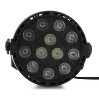 Wholesale Music Activated - Flat LED Par RGBW DMX512 Disco Lamp stage light Voice activated For Discos Music Light Disco Bulb effetto luci discoteca