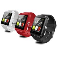 Wholesale Kids I - Smart Watch U8 Bluetooth WristWatch for i Phone Note 2 Note 3 Android Phone Smartphones