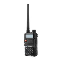 uhf radios groihandel-BAOFENG UV5R UV5R Walkie Talkie Dual Band 136-174MHz 400-520Mhz Two Way Radio-Transceiver mit 1800mAh Batterie (BF-UV5R)