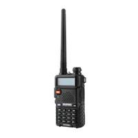 uv5r walkie achat en gros de-Émetteur-récepteur radio bidirectionnel bi-directionnel à double bande 136-174Mhz 400-520Mhz de talkie-walkie de BaoFeng UV-5R UV5R avec la batterie 1800mAH (BF-UV5R)