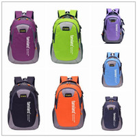 Wholesale Travel Multi Purpose Bag Wholesale - 9 Colors Outdoor Backpack Unisex Travel Multi-purpose Climbing Backpacks Hiking Large Capacity Rucksacks Camping Sports Bags CCA9303 20pcs