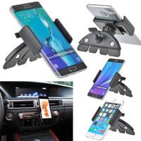 autohalterung preis großhandel-Auto Auto CD Slot Mount Cradle Halter Ständer für Mobile Smart Handys GROßHANDELSPREIS HOT E309