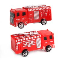 Wholesale toys model fire car - Hot Sale Truck Construction Cars Truck Vehicles Toy Truck Model Children Toys Fire Engine Kids Fire Car Educational Toys