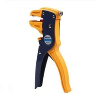 electric steel cutter UK - Professional Automatic Electric Cable Wire Stripper Striper Multifunctional Cutter Peeling Clamp Terminal Tool Herramientas De Mano