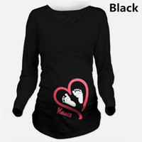 Wholesale knitted bottle cover - 2017 New Maternity Pregnancy Clothes Summer Plus Size Pregnant Women T-shirts Maternity Tees Clothes Nursing Top Pregnancy