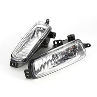 Wholesale ford fog light - 1 Pair   2PCs Car headlight Left and Right Fog Diving Lamps for 2015 2016 2017 Ford Focus Diving Lights Replacement Bright Lamps