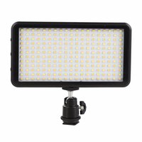 Wholesale led panel video light resale online - LED Light LED Video Light Panel for Camera DV Camcorder K Black Case Hot kit maquiagem