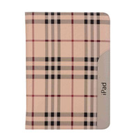 Wholesale waterproof ipad case for sale - Ultra Thin Stand Cover For Apple quot ipad A1458 A1560 Plaid Pattern Smart Cover For ipad Case Stylus Pen Film