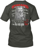 Wholesale man t shirt buy resale online - Humans Love Pitbull I Cut My Ears Off Buy Cool Casual Sleeves Cotton T Shirt Fashion New T Shirts Unisex Tagless Tee T Shirt