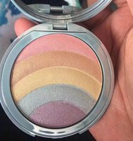 Wholesale rainbow full - New makeup Rainbow Highlioghter Strobe Glow pressed Powder 5colors in 1 palette High quality DHL shipping