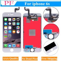Wholesale free 3d frames - For Iphone 6s LCD Touch Screen Display With Frame Digitizer Assembly 3D Touch Function AAA Quality Screen Replacement + Tempered Glass Free
