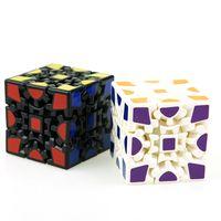 Wholesale special gear - Magic Cube 3D Gear Design Special Shape Difficult Cubes Children Puzzle Educational Games Toys Decompression Props 12yj Z