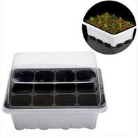 ingrosso semi in vendita-Vendite CALDE 12 Celle Foro Outdoor Vivaio Pianta in vaso Semi Grow Box Attrezzi da giardino Set 3 pezzi