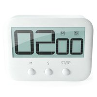 lcd для таймера оптовых-LCD Digital Large Kitchen Cooking Timer Count-Down Up Clock Loud Alarm Magnetic Large LCD Display Count Down Timer Timing Tool