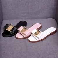 moda verano arco mujeres zapatillas al por mayor-