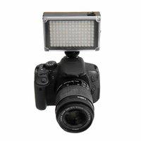 videos en vivo al por mayor-Ulanzi 112 LED Video Video Light Photo Iluminación en cámara Hot Shoe LED Lamp para Smartphone Videocámara DSLR Live Stream Cameras