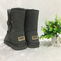 aea69fd53ebc Designer Schuhe Australian Style Ugs Frauen Schnee Stiefel 5803 100% Echtes  Rindsleder Stiefel Warme Winter Outdoor Frau schuhe Plus SizeUS4-13