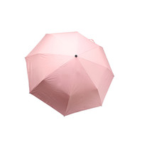 pongee guarda-chuva venda por atacado-Guarda-chuvas Pongee Yesello bonito animal à prova de vento chuva e guarda-sol três guarda-chuva para mulheres Nylon