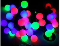 cortina de luz 12v venda por atacado-Levou luz seqüência de luz corda bola levou lanterna luz decoração de natal lt pode ser usado em decoração do quarto decoração do feriado
