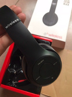 samsung stereo bluetooth toptan satış-Kablosuz Kulaklık Stereo Bluetooth Kulaklık Kulakiçi Destek TF Kart iPhone Samsung 1 adet Fabrika Fiyat