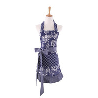 Wholesale Children Kitchen Accessories - New Printed Apron Fashion Parent Child Pinafore With Pockets Multi Color Household Kitchen Accessories 26hd C R