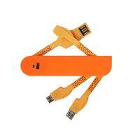 téléphone en forme de pomme achat en gros de-Câble de chargement USB 3 en 1 Câble de chargement de données de forme de couteau suisse Ports micro USB Dispositif pour téléphone mobile, tablettes