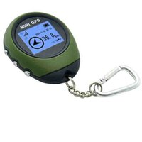 usb unidades gps venda por atacado-Veículo GPS Unidades Equipamentos Handheld Mini Rastreador GPS Bolsa Rastreador Navegador de Carregamento USB Veículo Cor Aleatoriamente