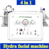 Wholesale ultrasonic facial home - hydro skin machine ultrasonic facial microdermabrasion water jet spa home diamond peeling machine facial lifting equipment