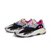 Wholesale soccer shoes red online - 700 Wave Runner KAWS Kanye West Originals New Mens Designer Sports Running Shoes for Men Sneakers Women Luxury Brand Casual Trainers