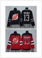 5f0abbf7e 100th anniversary 2018 Season New Jersey Devils Jersey 9 Taylor Hall 13  Nico Hischier 30 Martin Brodeur 35 Cory Schneider Hockey Jerseys