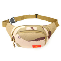 Wholesale hunt more - Outdoor leisure Waist Bag More durable Canvas Purse Belt walking Shoulder Bag Wallet Travel Waist Hip Pack