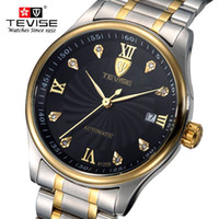 tevise роскошные мужчины оптовых-Fashion Men Watch TEVISE Casual Watches Men Top  Waterproof clock Wristwatches Machinery Watch reloj hombre