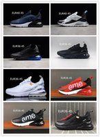 Wholesale height c - 270 Mens Shoes Sneakers For Women Running Trainers Wmns Sports Sneaker Men 270 Black White shoes