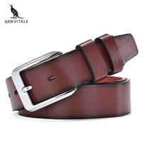 Wholesale leather clothes for black men - Belts Mens Belt Pu Leather Black Ceinture For Jeans Casual Classic Style Clothing Accessories Apparel Waist Stretch Buckles
