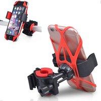 cep telefonu tutacağı kolu toptan satış-Evrensel Bisiklet Bisiklet Gidon Cep Telefonu GPS Için Montaj Tutucu Braketi Standı Motosiklet 360 Derece