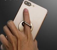 ringhalter ipad großhandel-Finger-Ring-Handy-Smartphone-Stand-Halter 2018 für Telefon IPAD MP3-Auto-Berg-Stand mit Paket