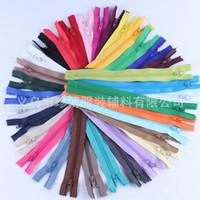 näh-mode-accessoires großhandel-Closed Tail Zipper Suit Hosen Farbe Nylon Zipper Tailor Sewing Crafts Hochwertige Mode Kleidung Accessoires 0 15zb Ww
