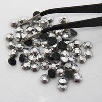ingrosso vetro dmc-Miniera argento SS20 vetro materiale DMC Hotfix strass Flatback Glass per la decorazione di abbigliamento
