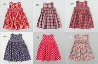 Wholesale Kids Party Dresses For Sale - Hot Sale Children Dresses 2018 New Summer Lovely Baby Girls Dresses Casual Party Dresses Bohemian Princess For 3-7 Years Kids Dress
